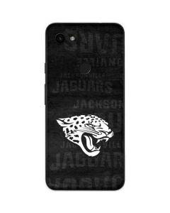Jacksonville Jaguars Black & White Google Pixel 3a Skin