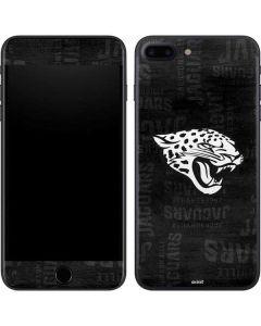 Jacksonville Jaguars Black & White iPhone 8 Plus Skin