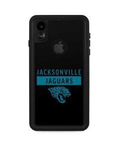 Jacksonville Jaguars Black Performance Series iPhone XR Waterproof Case