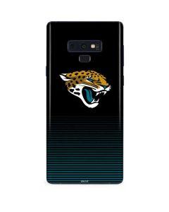 Jacksonville Jaguars Breakaway Galaxy Note 9 Skin