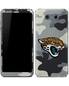 Jacksonville Jaguars Camo LG G6 Skin