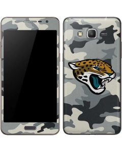 Jacksonville Jaguars Camo Galaxy Grand Prime Skin