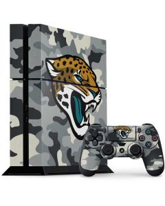 Jacksonville Jaguars Camo PS4 Console and Controller Bundle Skin