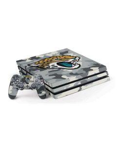 Jacksonville Jaguars Camo PS4 Pro Bundle Skin
