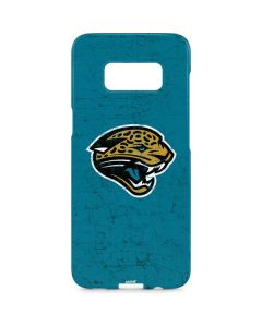 Jacksonville Jaguars Distressed Galaxy S8 Plus Lite Case