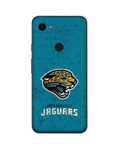 Jacksonville Jaguars Distressed Google Pixel 3a Skin