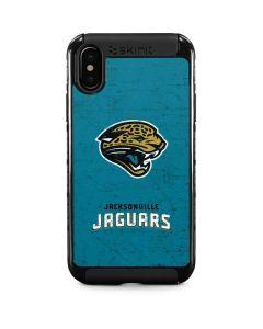 Jacksonville Jaguars Distressed iPhone XS Max Cargo Case