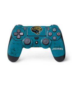 Jacksonville Jaguars Distressed PS4 Controller Skin