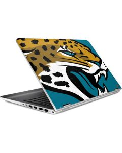 Jacksonville Jaguars Large Logo HP Pavilion Skin