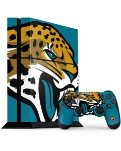 Jacksonville Jaguars Large Logo PS4 Console and Controller Bundle Skin
