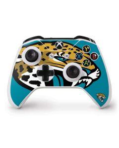 Jacksonville Jaguars Large Logo Xbox One S Controller Skin