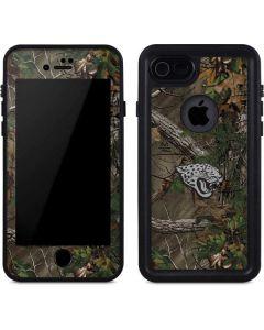 Jacksonville Jaguars Realtree Xtra Green Camo iPhone 8 Waterproof Case