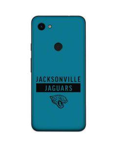 Jacksonville Jaguars Teal Performance Series Google Pixel 3a Skin