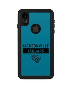 Jacksonville Jaguars Teal Performance Series iPhone XR Waterproof Case