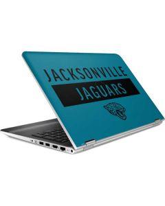 Jacksonville Jaguars Teal Performance Series HP Pavilion Skin