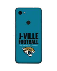 Jacksonville Jaguars Team Motto Google Pixel 3a Skin