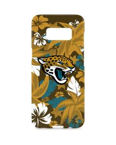 Jacksonville Jaguars Tropical Print Galaxy S8 Plus Lite Case