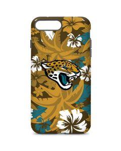 Jacksonville Jaguars Tropical Print iPhone 8 Plus Pro Case
