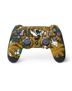 Jacksonville Jaguars Tropical Print PS4 Controller Skin
