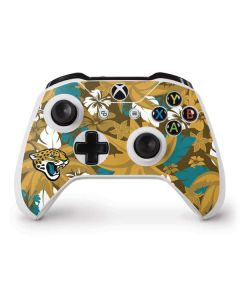 Jacksonville Jaguars Tropical Print Xbox One S Controller Skin