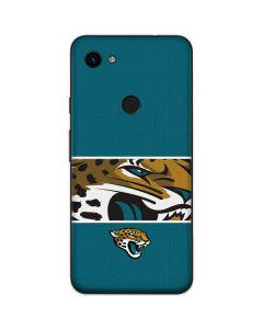Jacksonville Jaguars Zone Block Google Pixel 3a Skin