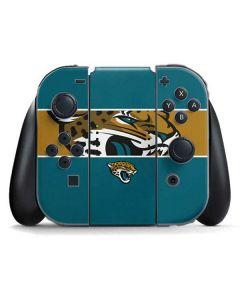 Jacksonville Jaguars Zone Block Nintendo Switch Joy Con Controller Skin