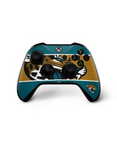 Jacksonville Jaguars Zone Block Xbox One X Controller Skin