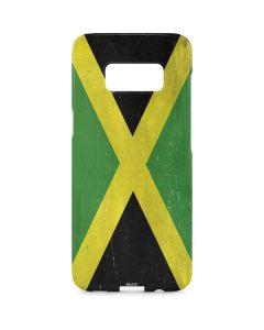 Jamaica Flag Distressed Galaxy S8 Plus Lite Case
