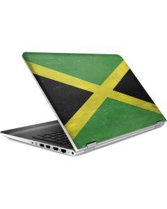 Jamaica Flag Distressed HP Pavilion Skin