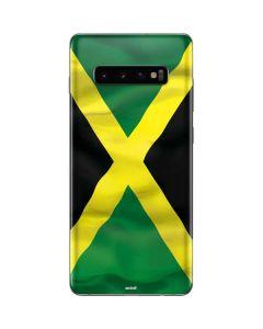 Jamaica Flag Galaxy S10 Plus Skin