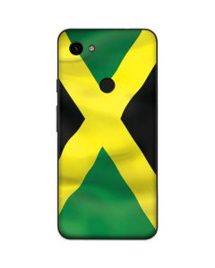 Jamaica Flag Google Pixel 3a Skin