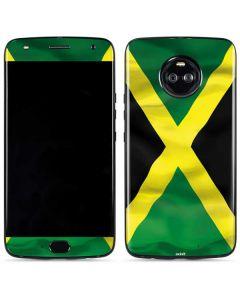 Jamaica Flag Moto X4 Skin