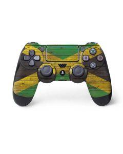 Jamaican Flag Dark Wood PS4 Pro/Slim Controller Skin