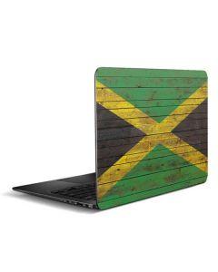 Jamaican Flag Dark Wood Zenbook UX305FA 13.3in Skin