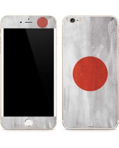 Japanese Flag Distressed iPhone 6/6s Plus Skin