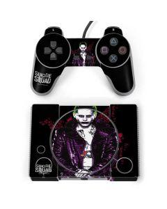 Jared Leto Joker PlayStation Classic Bundle Skin