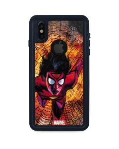 Jessica Drew The Spider-Woman iPhone XS Waterproof Case
