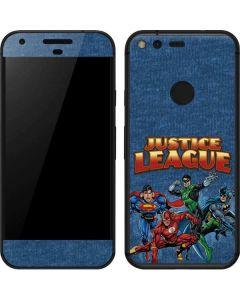 Justice League Heroes Google Pixel Skin