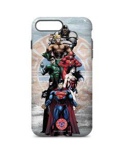 Justice League Heros iPhone 7 Plus Pro Case