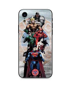 Justice League Heros iPhone XR Skin