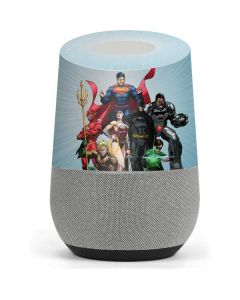 Justice League New 52 Google Home Skin