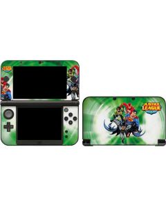Justice League Team Power Up Green 3DS XL 2015 Skin