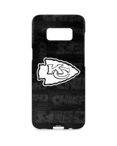 Kansas City Chiefs Black & White Galaxy S8 Plus Lite Case