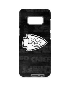 Kansas City Chiefs Black & White Galaxy S8 Pro Case