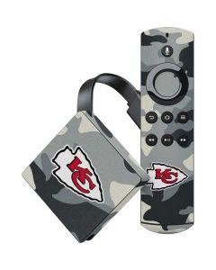 Kansas City Chiefs Camo Amazon Fire TV Skin