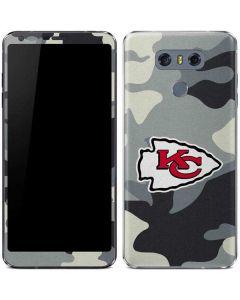 Kansas City Chiefs Camo LG G6 Skin
