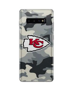 Kansas City Chiefs Camo Galaxy S10 Plus Skin