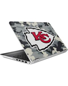Kansas City Chiefs Camo HP Pavilion Skin
