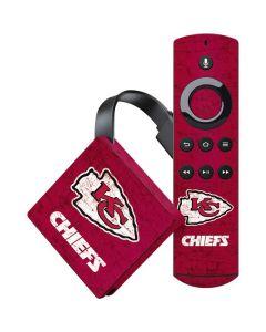 Kansas City Chiefs Distressed Amazon Fire TV Skin
