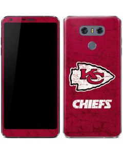 Kansas City Chiefs Distressed LG G6 Skin